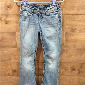 Juniors Silver jeans